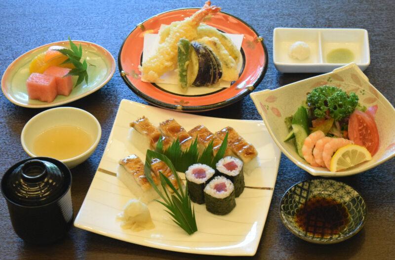 穴子棒寿司ランチ